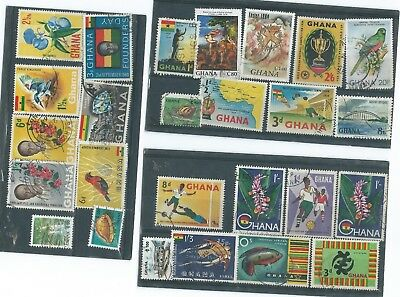 Ghana   Used   Stamp Collection