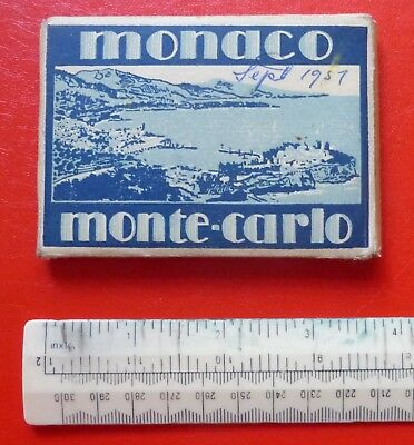 Pack Of 15 Old Photographs Of Monte Carlo, Monaco  :: Edition La Cigogne