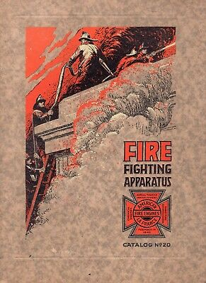 1923 American LaFrance Catalog of Fire Fighting Apparaus, Trucks