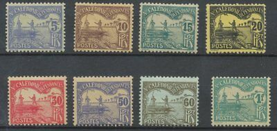 [K0110] New Caledonia 1906 stampdue good set very fine MH stamps