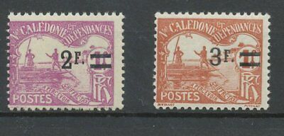 [K0112] New Caledonia 1926-27 stampdue good set very fine MNH stamps value $23