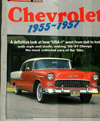1955, 56, 57 Chevrolet Bel Air, 210, 150 Color Hardback Book By Consumer Guide