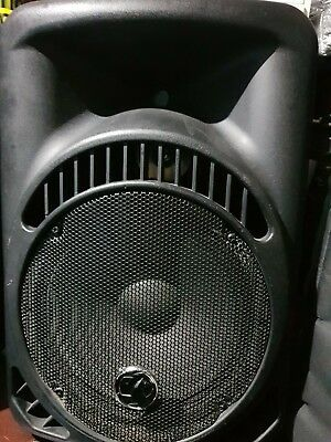 Rhino RH 2112AABS Pair of Active speakers with covers