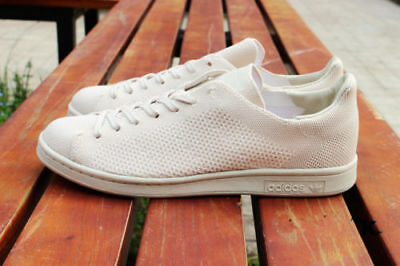 adidas Originals Mens Stan Smith Primeknit Oatmeal Trainers RRP £94.99