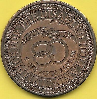 5 Olympic Florin 1980