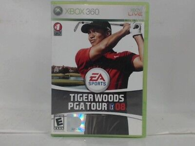 TIGER WOODS PGA TOUR 08 Xbox 360 Complete in Box w/ Manual CIB Acceptable