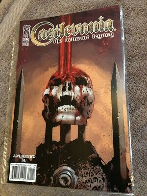 CASTLEVANIA The Belmont Legacy Issue #1 IDW Comics First Print Rare Netflix Show