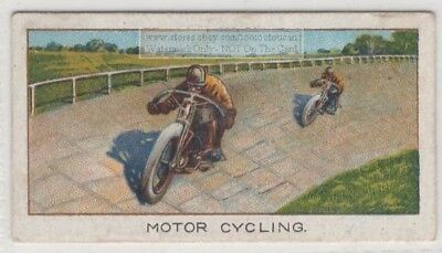 1921 Indian Motorcycle 107 MPH Vack Brooklands 1920s Trade Ad Card