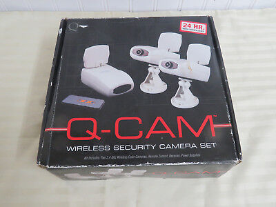 Q-Industries QWC2-72 Wireless Security Camera System with 2 Wireless Cameras
