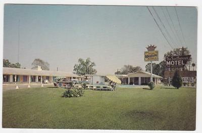 The Southern Motel  Alexandria Louisiana postcard ~ highways 165 & 71 by pass
