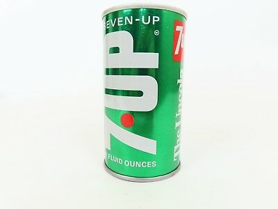 7-Up Music Box Soda Can Love Story Theme Vintage 1970s Seven-UP Works Great