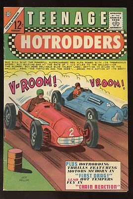 Teen Age Hotrodders #11 Very Good / Fine 5.0 1965 Charlton Comics