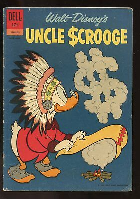 Uncle Scrooge #39 Very Good 4.0 1962 Dell Comics