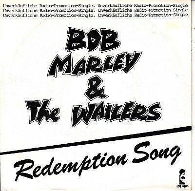 """7""""-   Bob Marley And The Wailers =  Redemption Song / Redemption Song (Band V.)"""