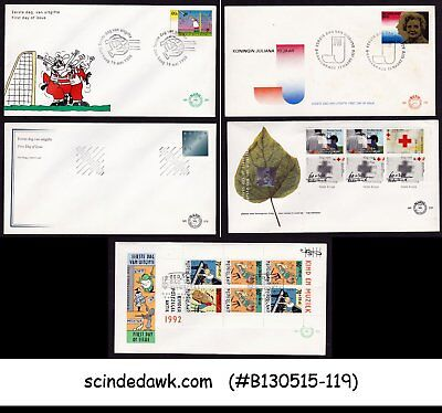 NETHERLAND - SELECTED FIRST DAY COVERS - 5nos