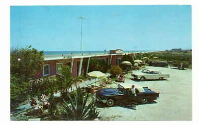 Ocean Edge Motel, US 1 Melbourne, FL 1960s Postcard