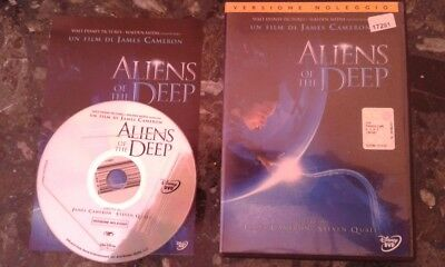 Walt Disney Aliens Of The Deep Dvd Ex Noleggio  Pari Al Nuovo No Bluray Cars 3