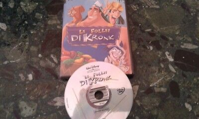 Walt Disney Le Follie Di Kronk Dvd Ex Noleggio  Pari Al Nuovo No Bluray Cars 3