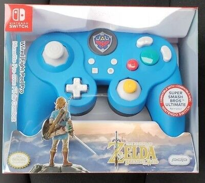PDP Super Smash Bros Wired Fight Pad Pro Link for Nintendo Switch Open Item
