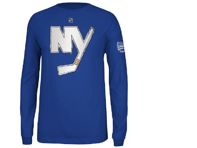 new product c8c69 879f7 NHL REEBOK #15 NY Islanders Hockey Jersey Long Sleeve Shirt New Mens Sizes