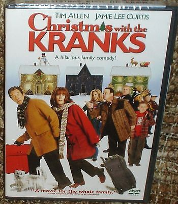 Christmas With The Kranks Dvd, New And Sealed, A Hilarious Family Comedy