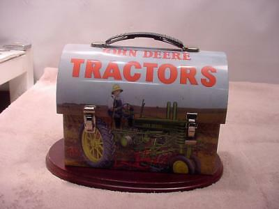 John Deere Toy Round Top Lunch Box