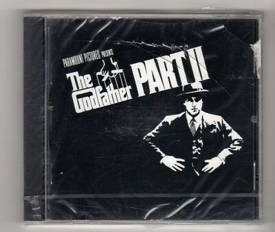 (IP799) The Godfather Part II, Soundtrack - 1974 sealed CD