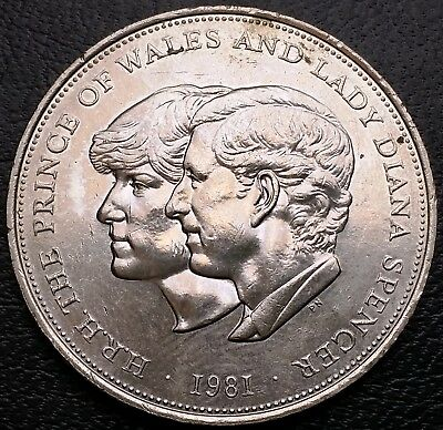 1981 Prince of Wales and Lady Diana Medallion - Free Combined Shipping