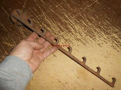 Antique Hardware Store Barn Shovel Rake Cast Iron Bracket