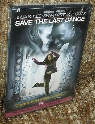 Save The Last Dance Dvd, New & Sealed, Rare Edition, Widescreen, Julia Stiles