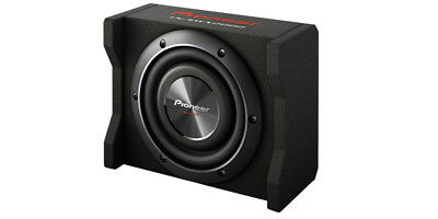 "Pioneer 8"" Shallow Mount Enclosure Pre-Loaded w/ 8"" 600 Watts Subwoofer"