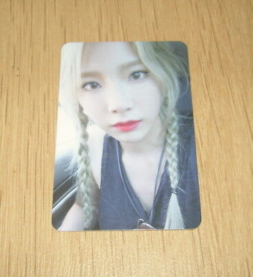 """Girls' Generation SNSD Taeyeon 2nd mini """"Why"""" C Official Photo Card"""