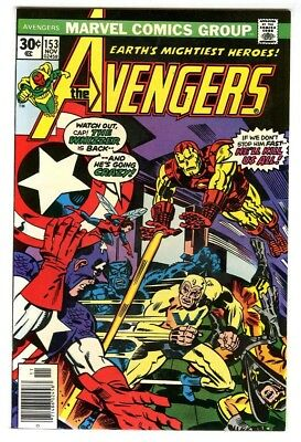 Avengers #153 (1976) NM- Marvel Comics New Collection