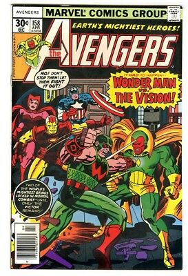 Avengers #158 (1977) NM Marvel Comics New Collection