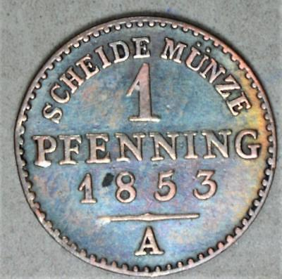 Germany-Prussia 1853-A 1 Pfennig