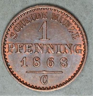 Germany-Prussia 1868-C 1 Pfennig