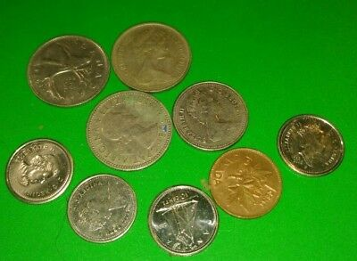 Lot Of Mixed Canadian  Coins