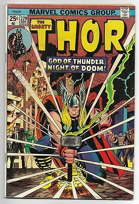 1974 Marvel Comics Group The Mighty Thor No.229