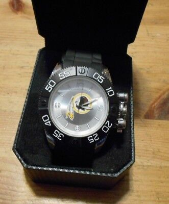 14bc915df56 New In Case Men's WristWatch - WASHINGTON REDSKINS NFL Football Game Time  Watch