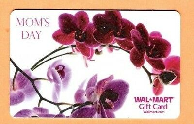 Collectible Walmart Gift Card - Mothers Day - No Cash Value - VL5032