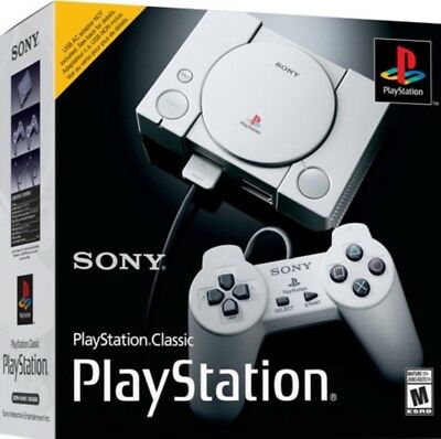 PlayStation Classic Video Game Console NEW & SEALED!  SHIPS TODAY PS1 PS4