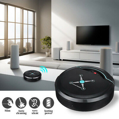 Rechargeable Automatic Smart Robot Vacuum Cleaner Edge Cleaning Self Navigated