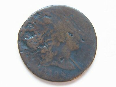 1794 1C Large Cent Rare Early Type Coin Damaged