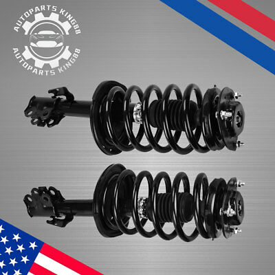 Pair Front Quick Struts & Coil Springs Left & Right For 2004-2010 Toyota Sienna