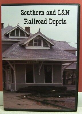 Southern and L&N Depot Photo CD