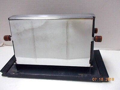 Antique 1940's ? ELECTRIC TOASTER 4 Small or 2 Large Slices-Not Tested-Very Rare