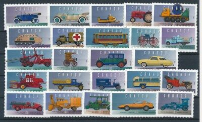 [G81905] Canada Cars good lot Very Fine MNH stamps