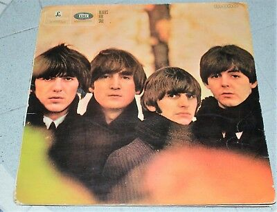 THE  BEATLES LP BEATLES FOR SALE PARLOPHONE mono PMC140 1964 503/4-4N EARLY