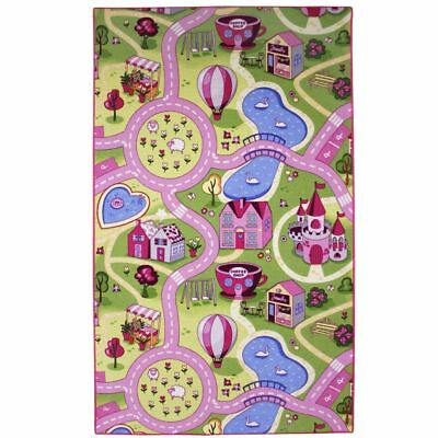 AK Sports Kids Play Mat Floor Gym Activity Rug Carpet Sweet Town SWEET TOWN 100