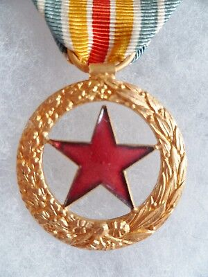 Medaille Des Blesses Militaires Wwi 1914-1918 Original French Wounded Medal